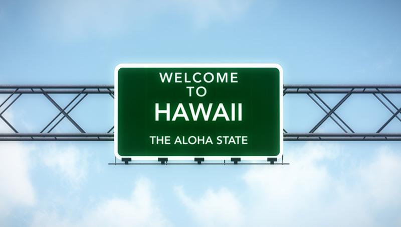 Hawaii highway sign