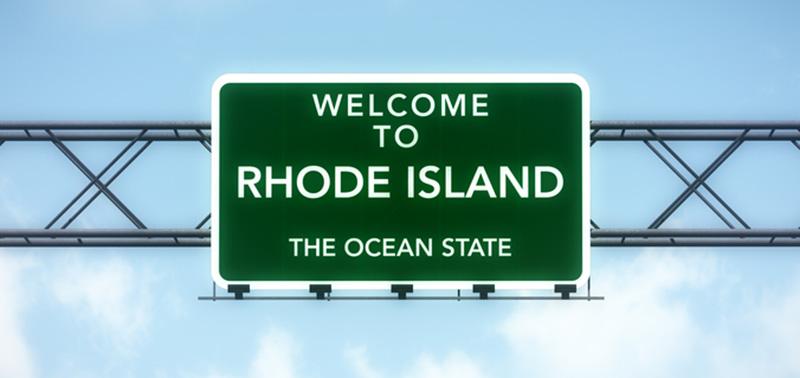 Rhode Island highway sign