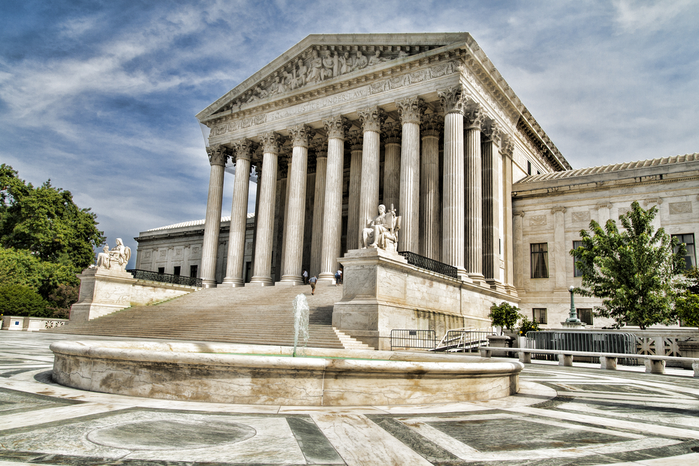 Exterior of the Supreme Court