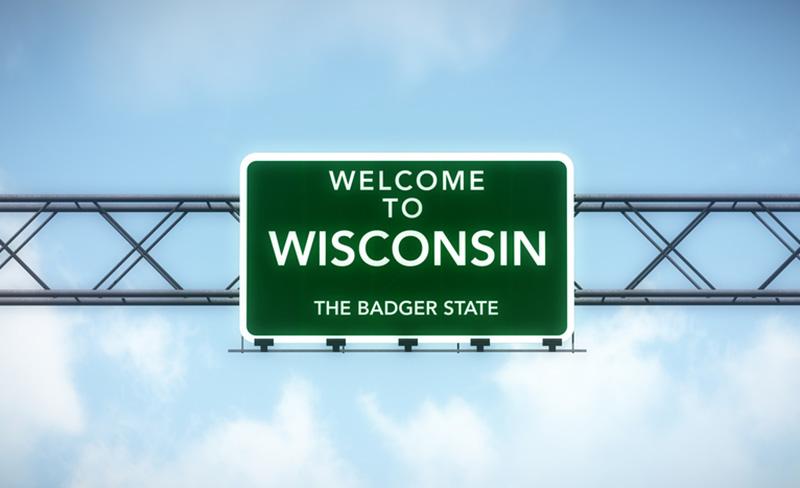 Wisconsin highway sign
