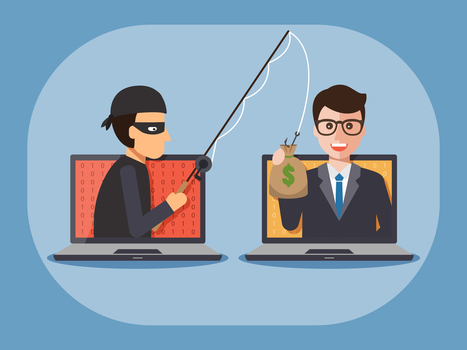Hacker looting company money