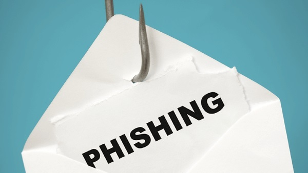 phishing with hook and envelope
