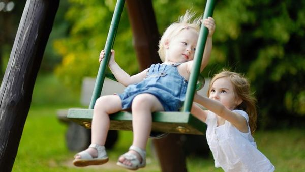 The No. 1 cause of fatal playground incidents? Hanging or asphyxiation. (Photo: Shutterstock)