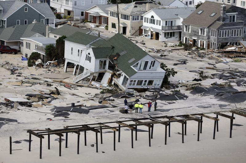destruction left in the wake of superstorm Sandy