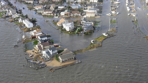 A Long Island community after Hurricane Sandy. (Photo: U.S. Coast Guard)