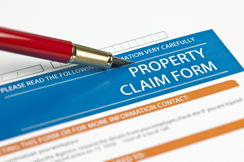 property insurance claim form