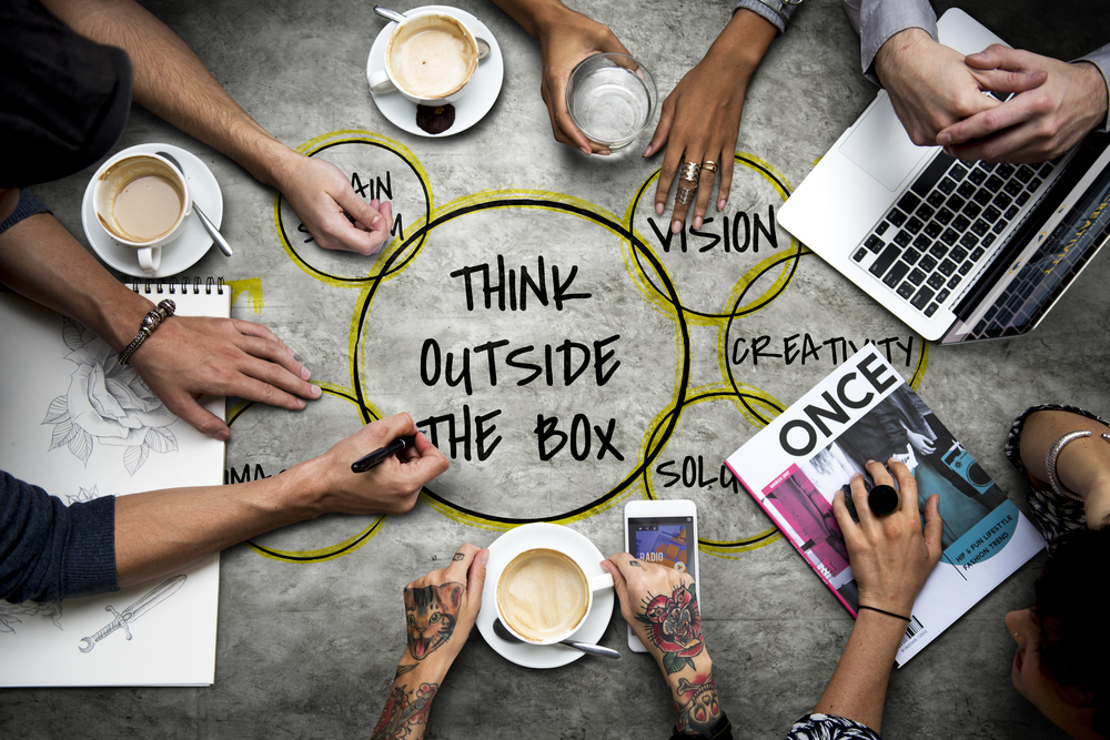 Thinking outside of the box as a team