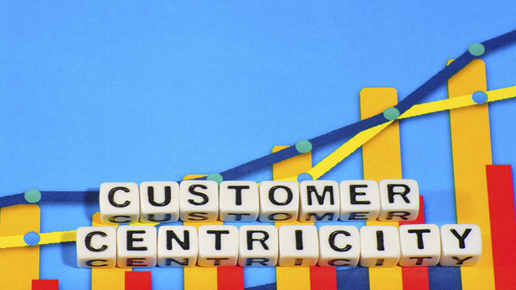 Customer centricity on upward graph