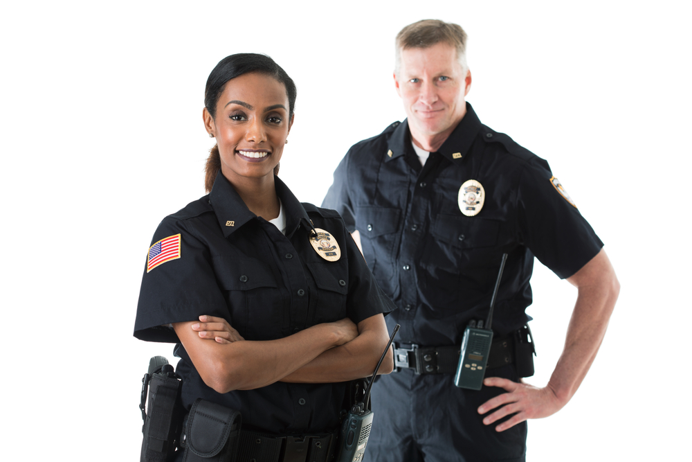 Black female police officers