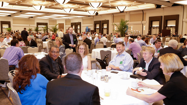 Young professionals who become actively involved in the U40 group will have a variety of educational opportunities. (Photo courtesy of WSIA)