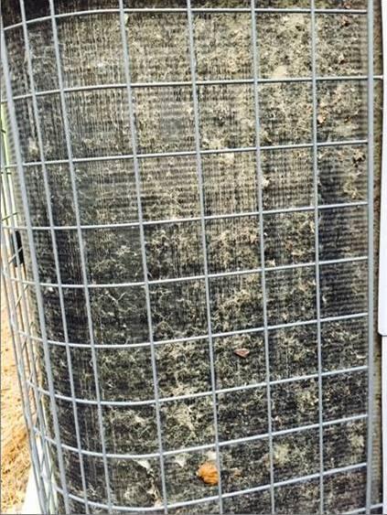 High winds stir up dust and debris that clog condenser coils