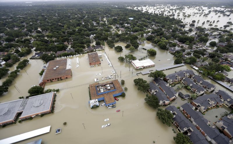 Hurricane Harvey floodwaters