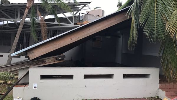 The Caguas Puerto Rico Country Club suffered significant damage from Hurricane Maria. Electricity was knocked out over the entire island. (Photo: Giancarlo Martinez Bunker)