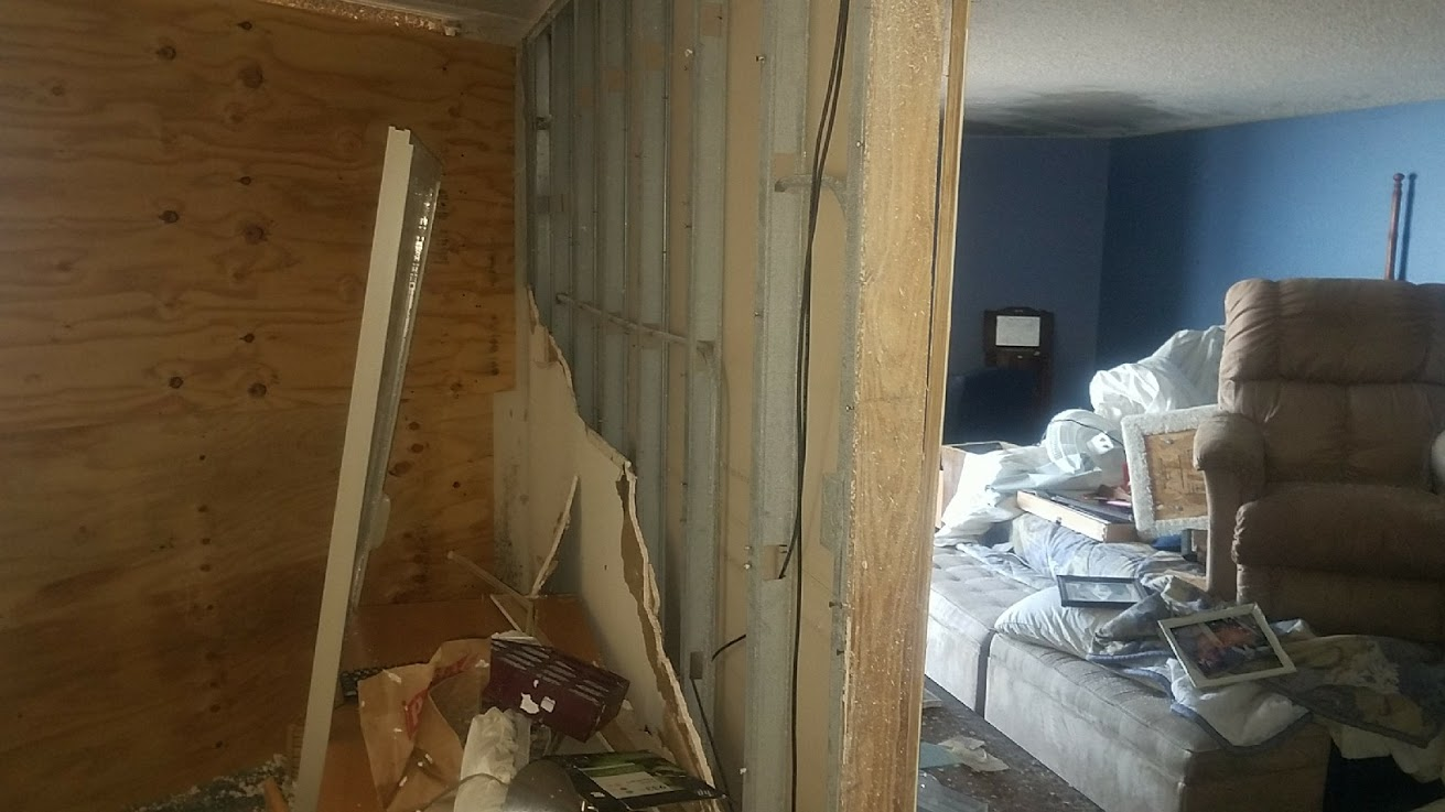 documenting interior and contents damage after Hurricane Harvey