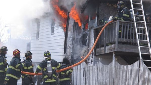 Modern home furnishings contribute to an increased rate at which home fires burn, according to officials with the NFPA. (AP Photo/Wayne Parry)