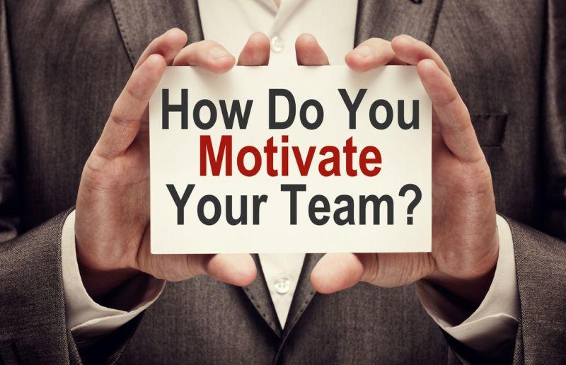 How do you motivate your team