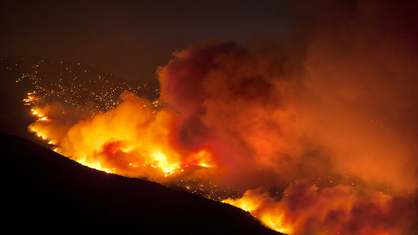 At-risk homeowners can take a number of precautionary actions to protect their homes and themselves in the event of a wildfire. (Source: Shutterstock)