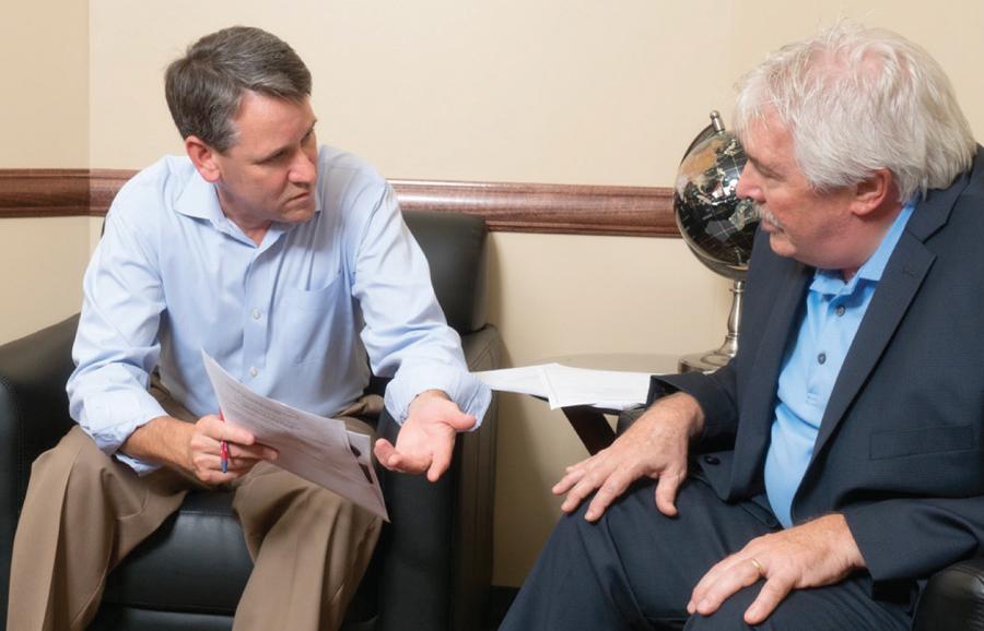 Greg Hogan and Ira Besdansky, CEO of Middletown NY YMCA