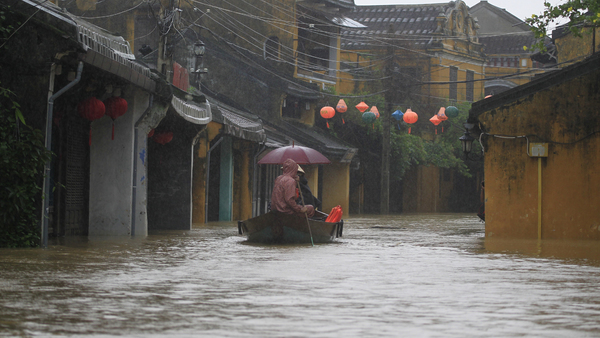 Damrey formed near the east coast of the Philippines (where it was known as Typhoon Ramil) and made landfall there as a tropical depression on November 1, local time. (Photo: AP Photo/Hau Dinh)