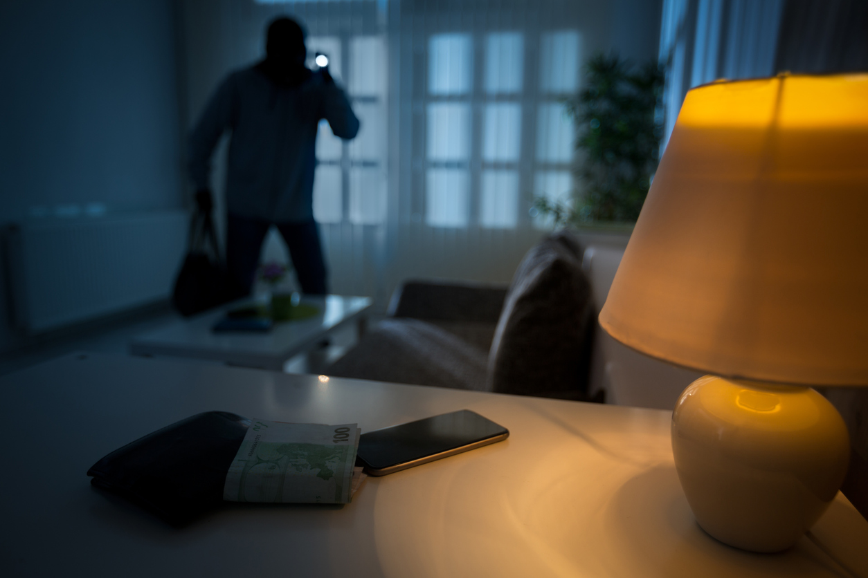 It's a good idea to keep all doors and windows locked during the holidays. (Photo: iStock)