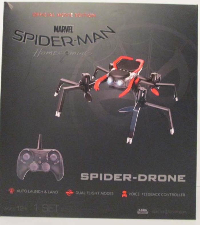 Spider-man Spider-drone official