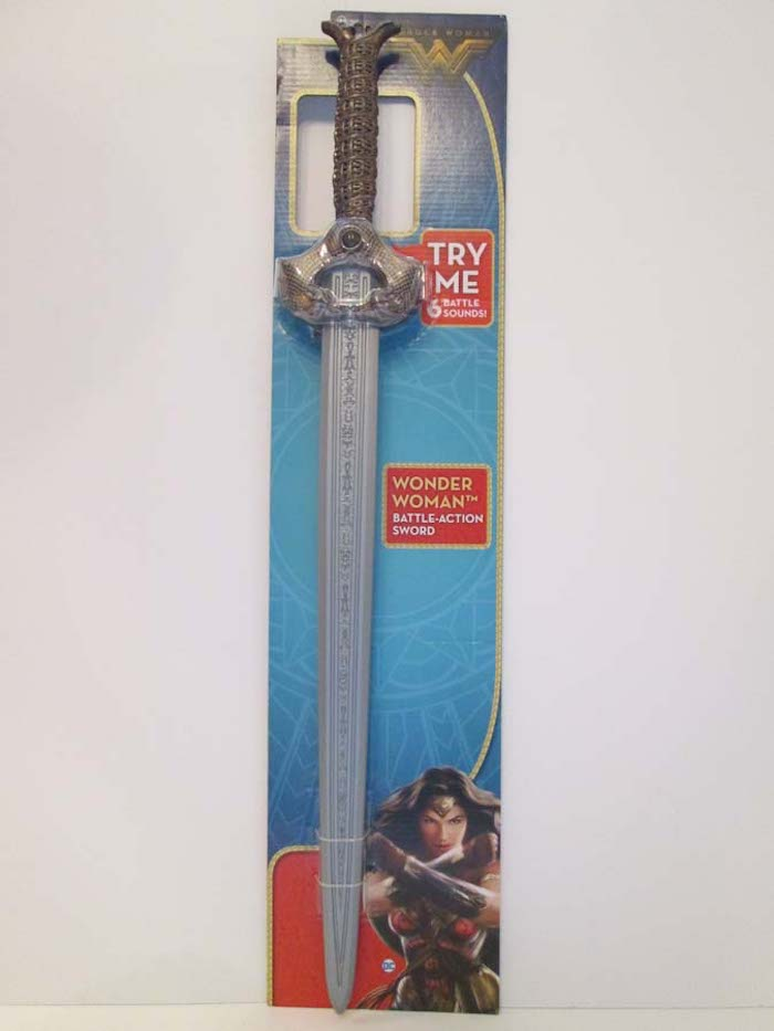 Wonder Woman battle-action sword