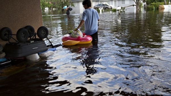 The disaster package is nearly double the $44 billion amount the White House sought last month. It falls short of the $94 billion Puerto Rico and $61 billion Texas have sought, though it appears to enjoy broad support from the Texas and Florida Republican delegations. (Photo: Bloomberg)