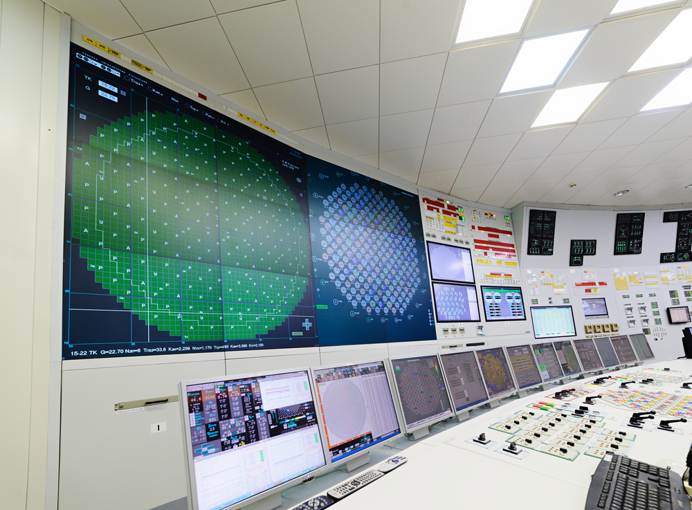 Control room nuclear power plant