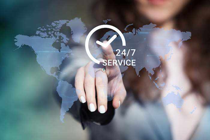 24/7 service and access