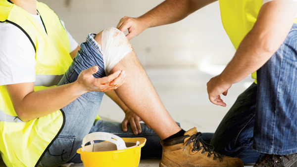 The best way to help an injured worker is prompt treatment.