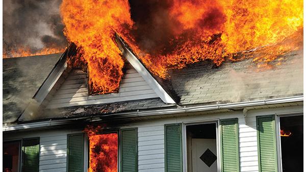Modern homes burn faster than ever before. (Photo: Shutterstock)