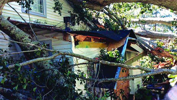 Several areas along the East Coast were severely impacted by rain, flooding and winds from Hurricane Matthew. (Photo: Spex)