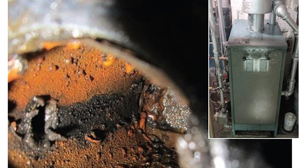 Stuck low water cutoff for boilers can be dangerous