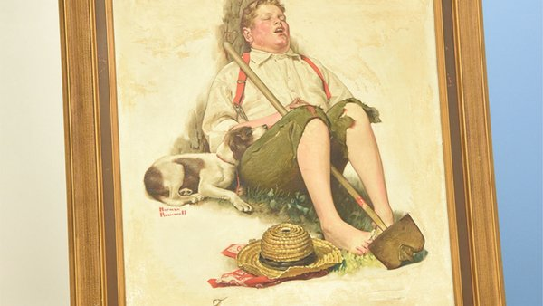 When Norman Rockwell's
