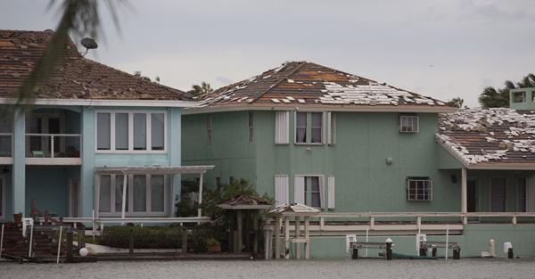 Damage from Hurricane Maria